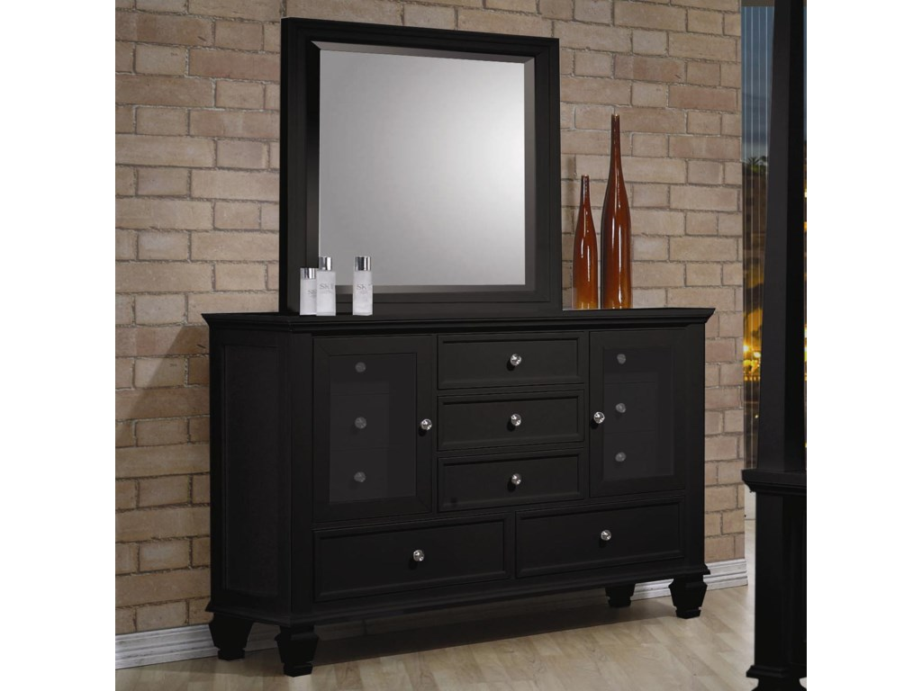 (Up to 40% OFF sale price) Collection # 2 Sandy BeachDresser and Mirror
