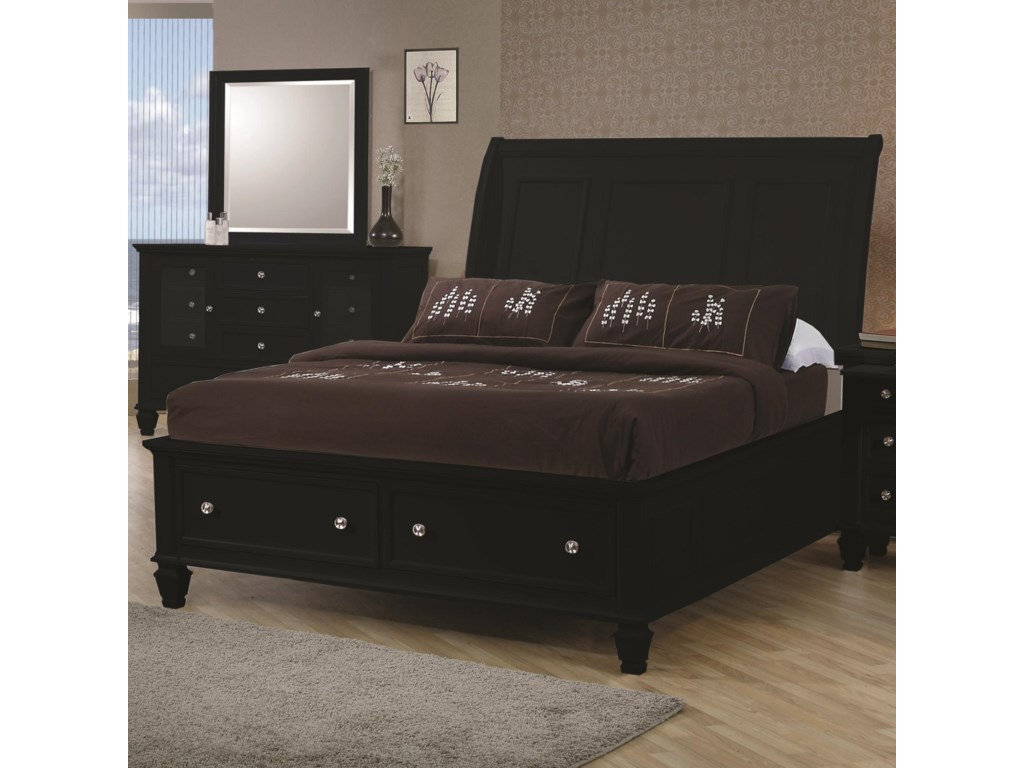Coaster Sandy BeachCalifornia King Sleigh Bed