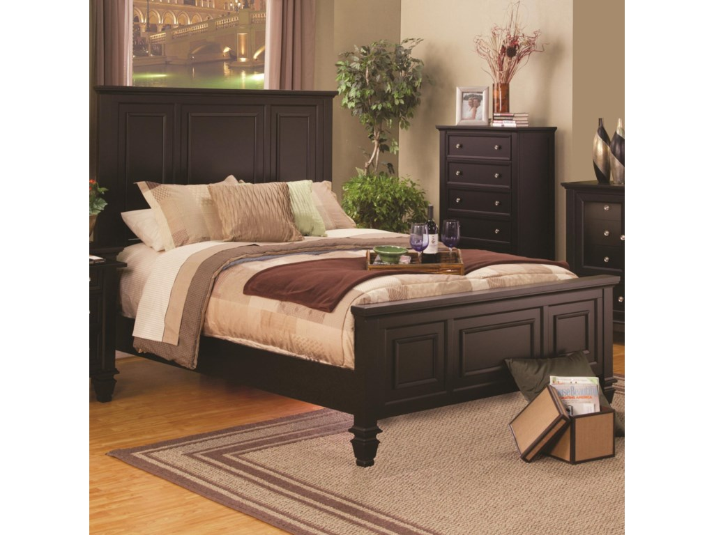 Fine Furniture Sandy BeachCalifornia King Headboard & Footboard Bed