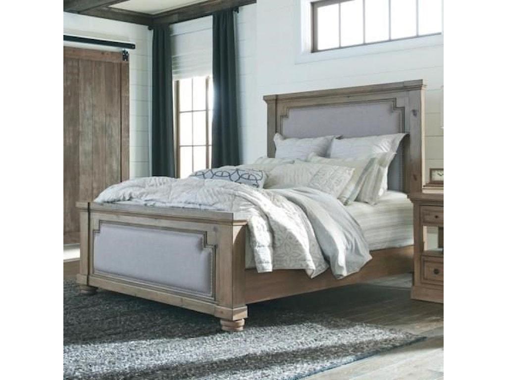 Coaster 20517Queen Upholstered Bed