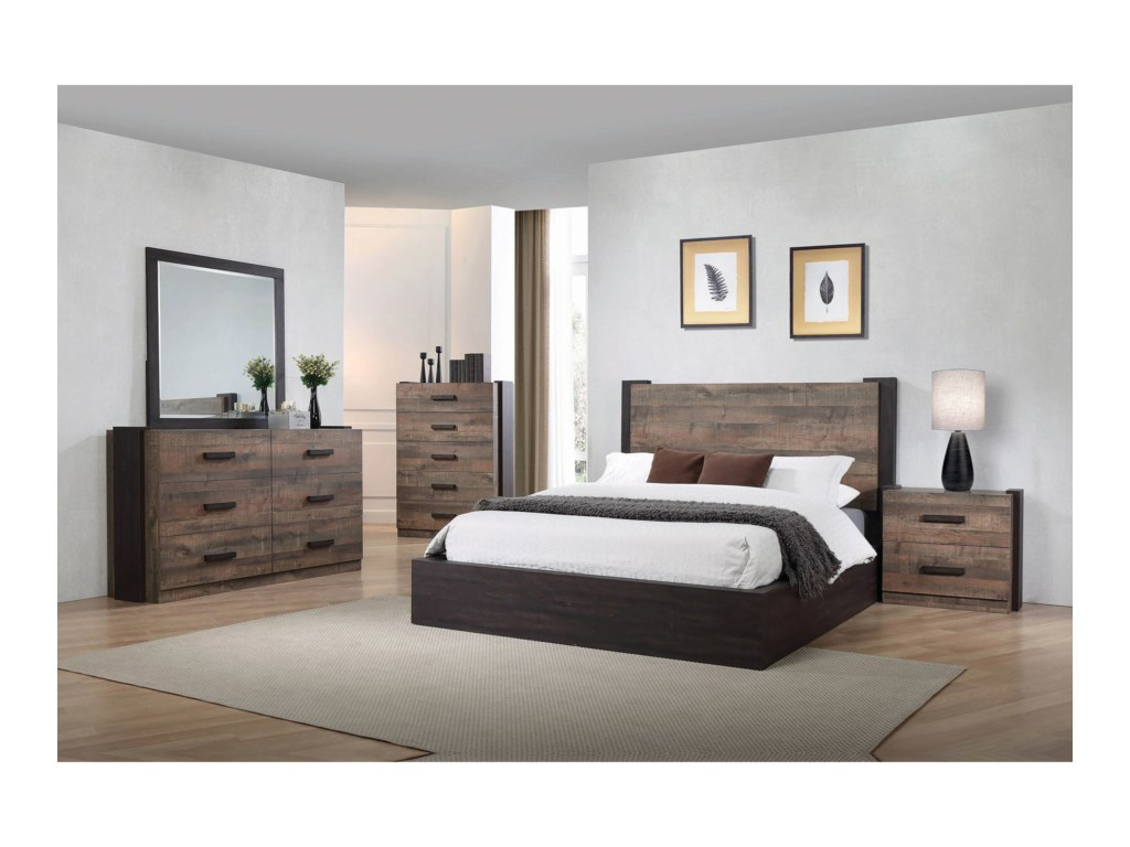 Coaster Furniture WestonKing Bedroom Group