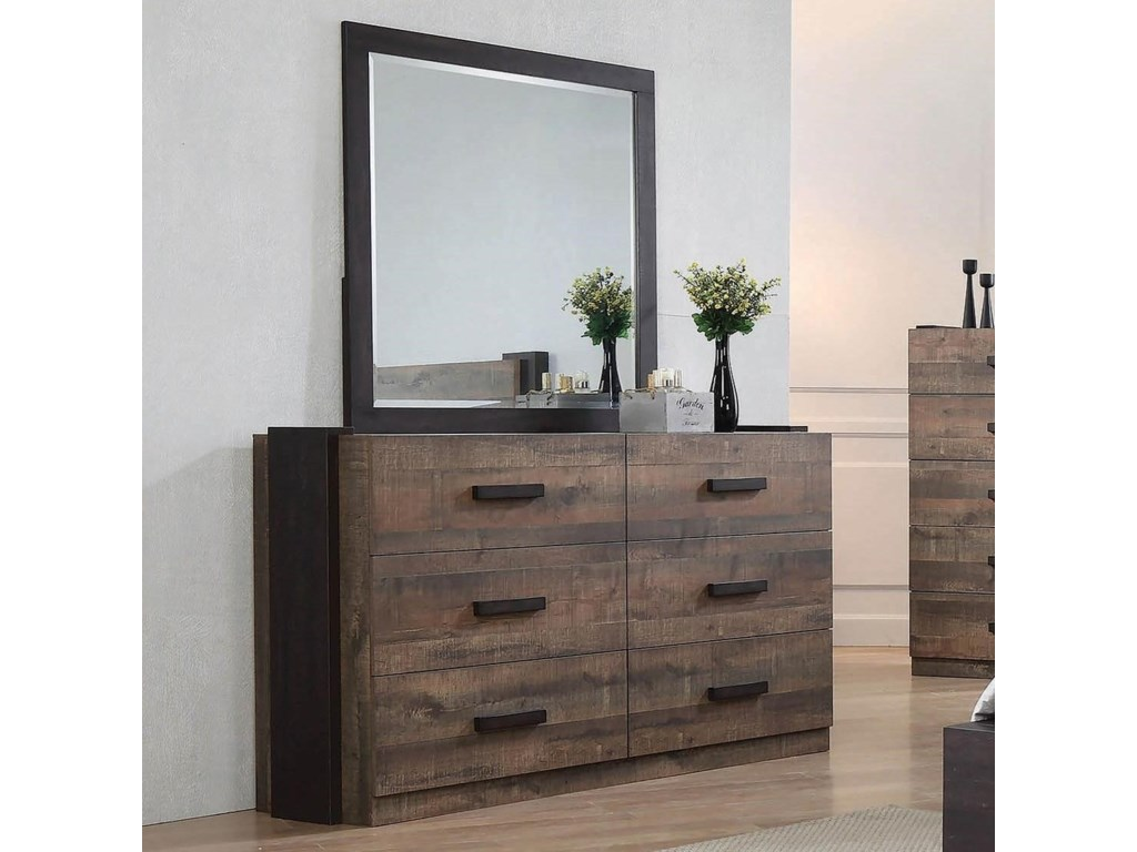 Coaster WestonDresser and Mirror