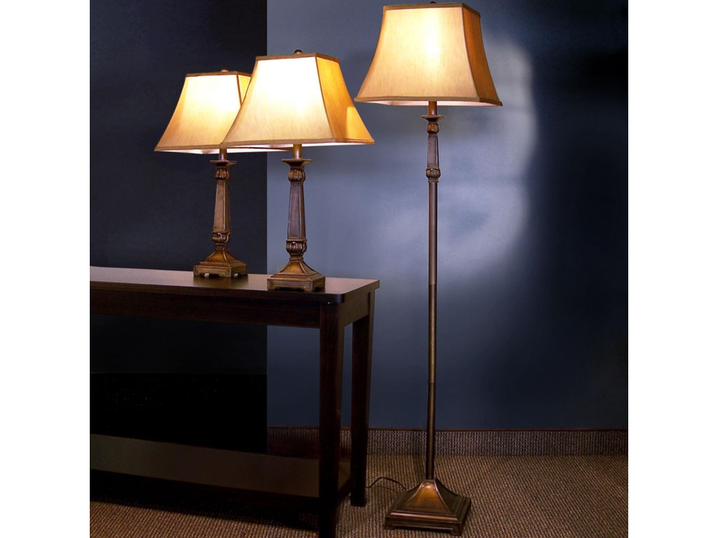 Collection Two (Showroom Closing Sale) 3 Pack Lamp Sets3 Piece Lamp Set