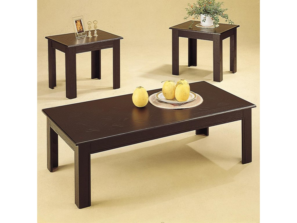 Coffee Table, Part of 3 Piece Set
