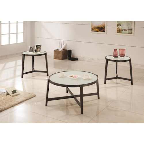 Coaster Occasional Table Sets 3 Piece Occasional Set