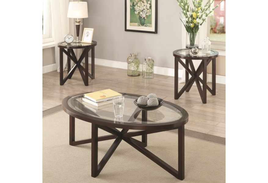 Coaster Occasional Table Sets 701004 3