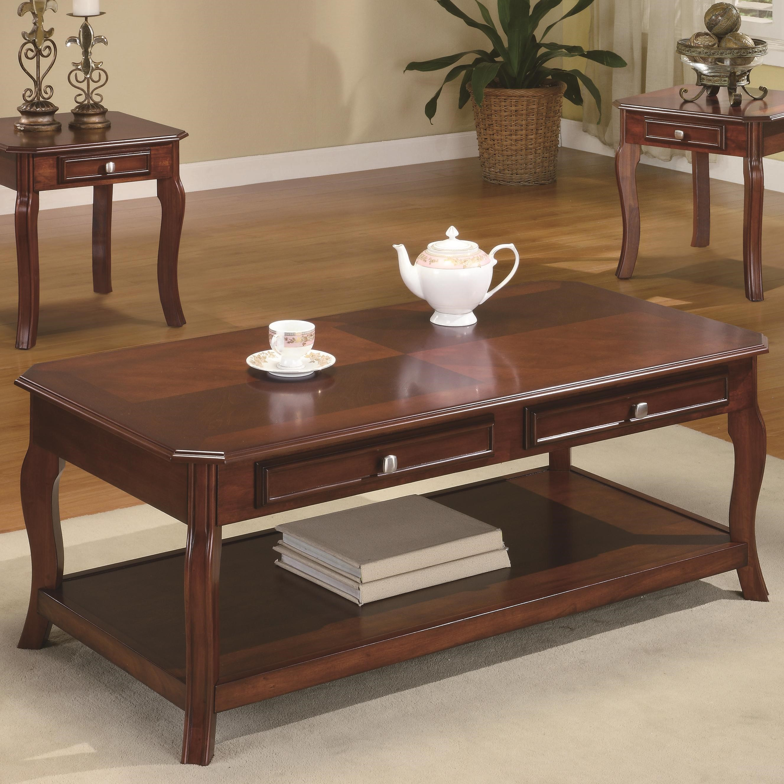 Charmant ... Coaster Occasional Table Sets3 Piece Table Set