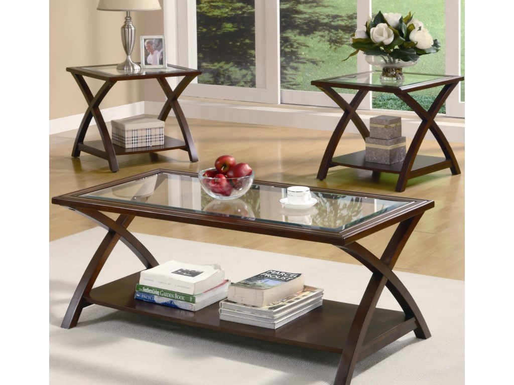 Coaster Occasional Table Sets3 PC Occasional Group