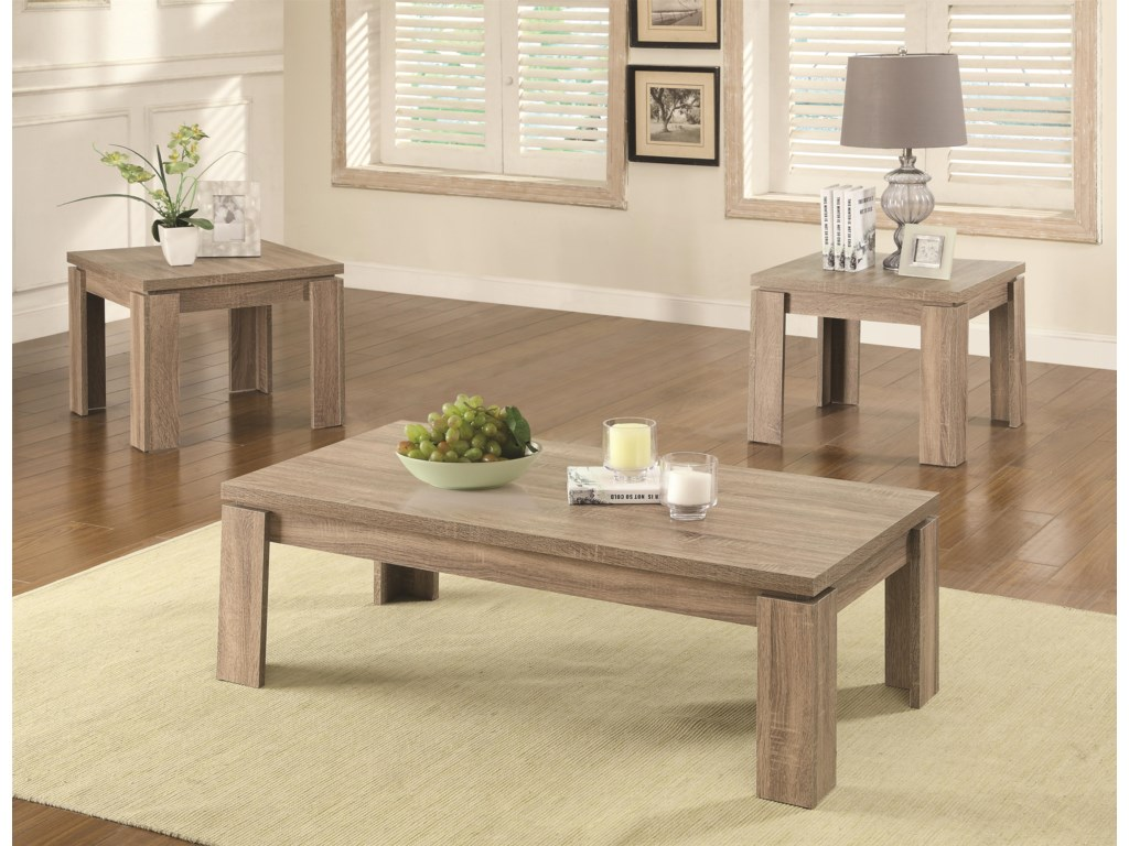 Coaster Occasional Table Sets3PC Occasional Set