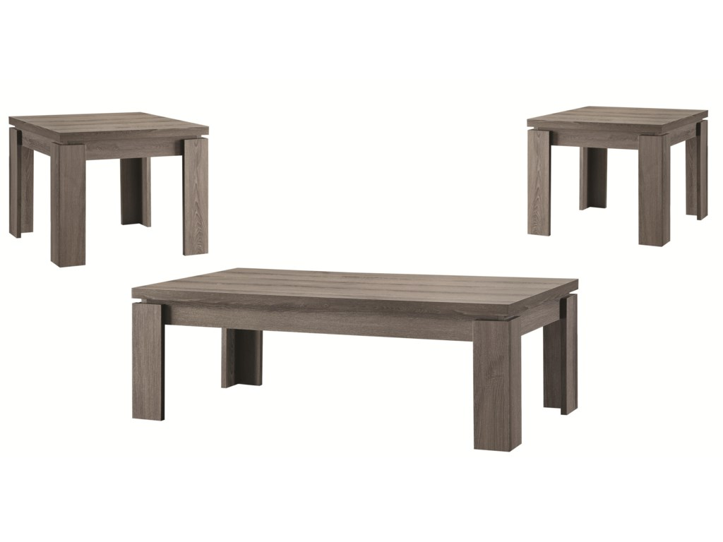 Coaster Furniture Occasional Table Sets3PC Occasional Set
