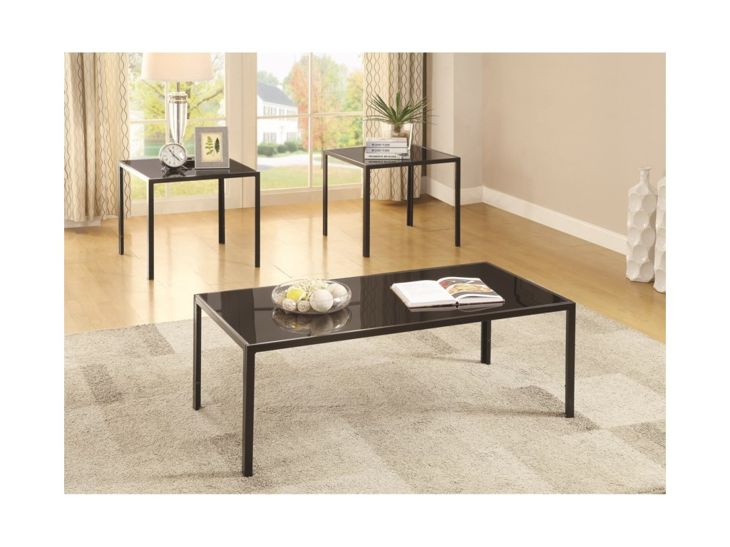 Coaster Occasional Table Sets3 Piece Occasional Set