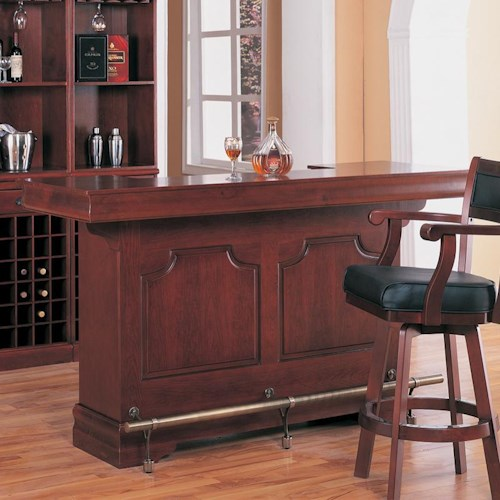Coaster Lambert Traditional Bar Unit with Sink