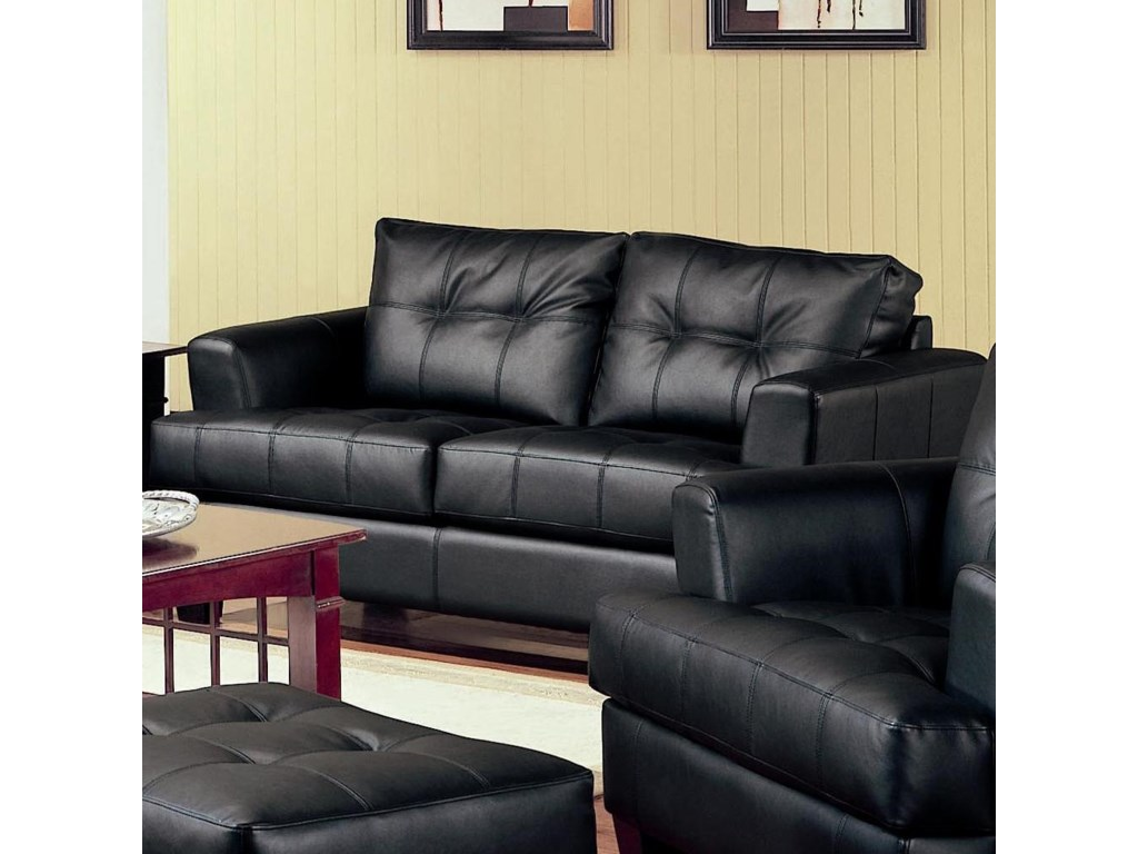Coaster Samuel2 Piece Loveseat and Sofa Group