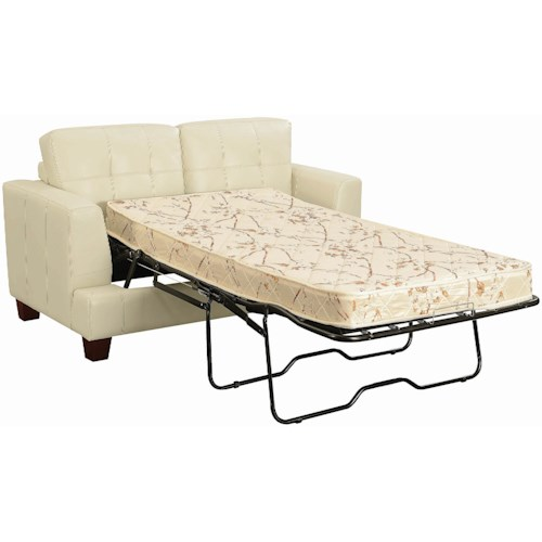 Coaster Samuel Contemporary Loveseat Sleeper