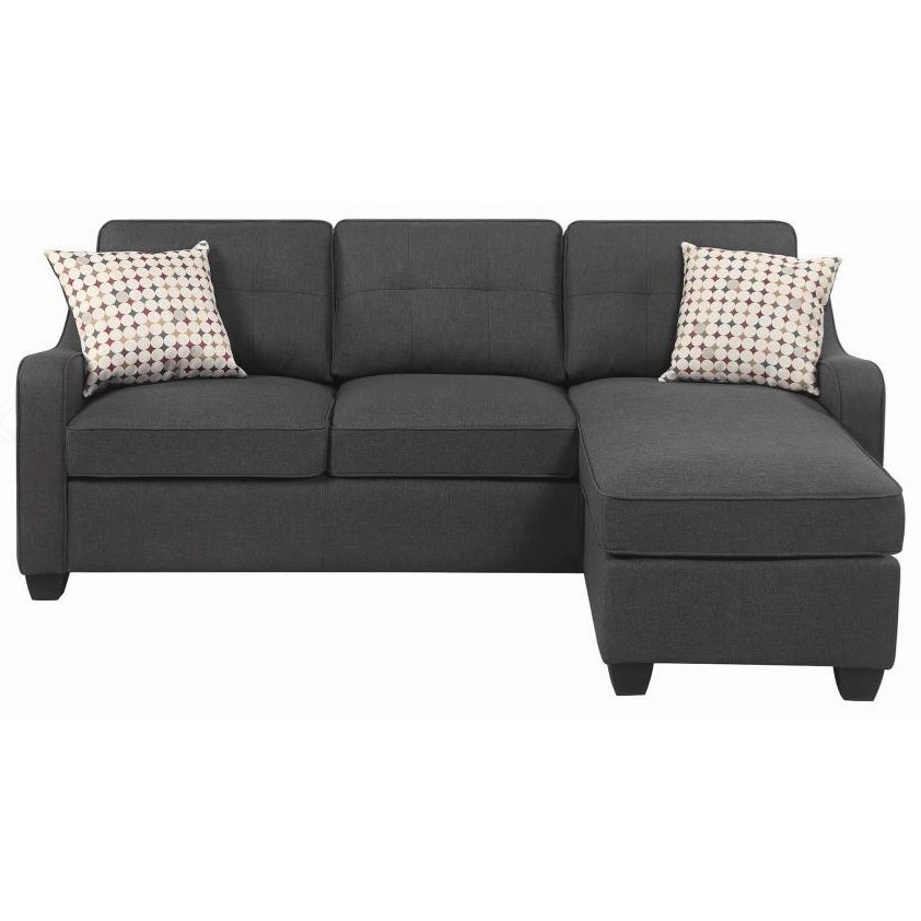 Transitional Sectional with Chaise