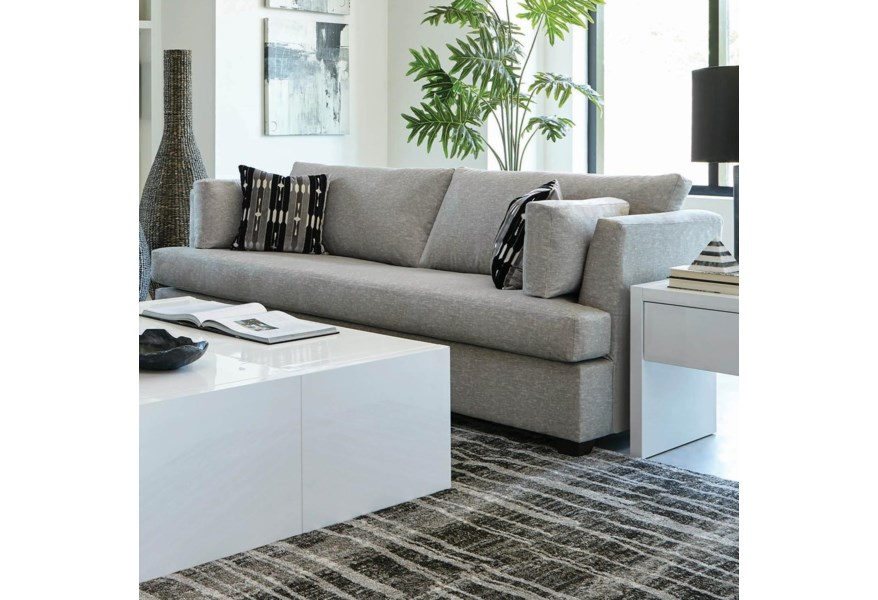 Awe Inspiring Coaster Lola 508601 Contemporary Sofa With Track Arms Caraccident5 Cool Chair Designs And Ideas Caraccident5Info