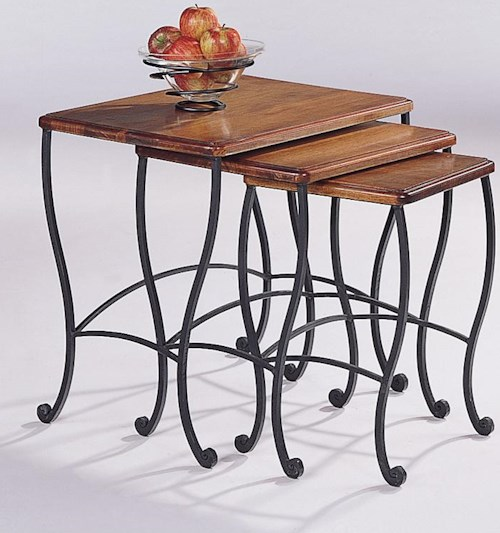 Coaster 5423 3 Piece Nesting Table Set