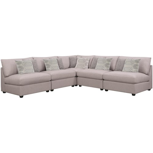 Coaster 55122 5 PC Sectional