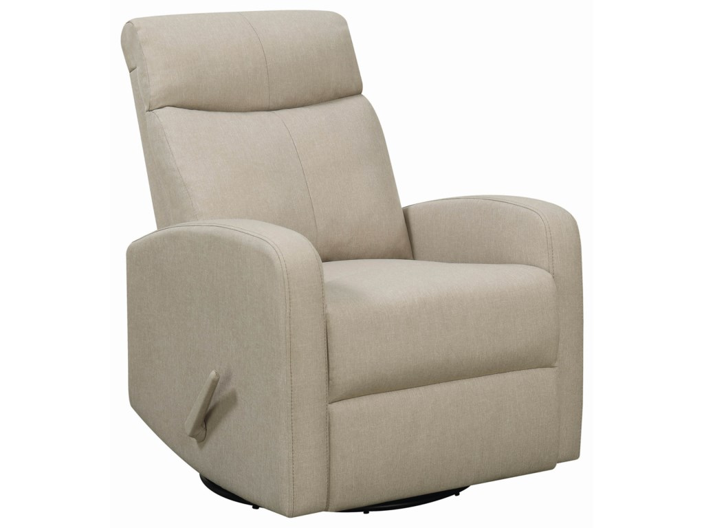 ROOMS # 2 Collection 6031Swivel Glider Recliner