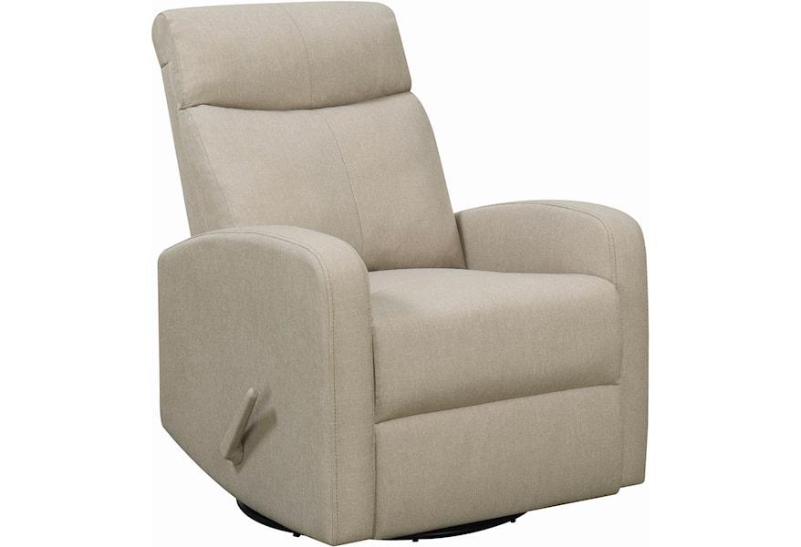 Amazing Coaster 6031 603170 Contemporary Swivel Glider Recliner Short Links Chair Design For Home Short Linksinfo
