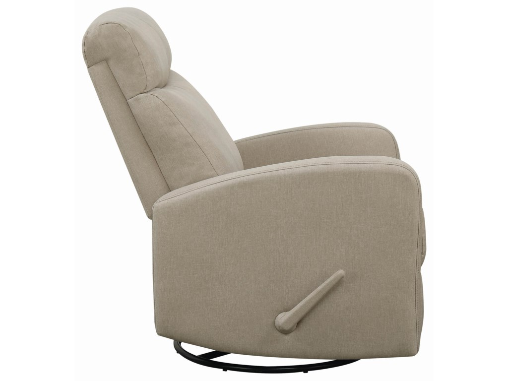 Coaster 6031Swivel Glider Recliner
