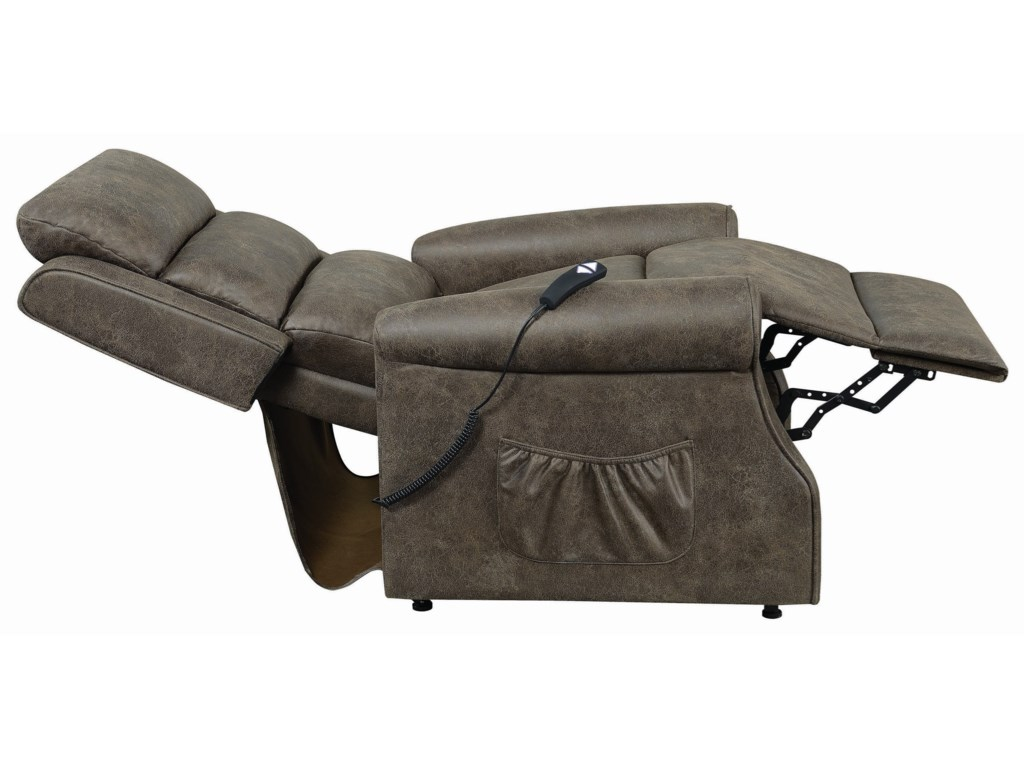 Fine Furniture 6503Power Lift Recliner - Small