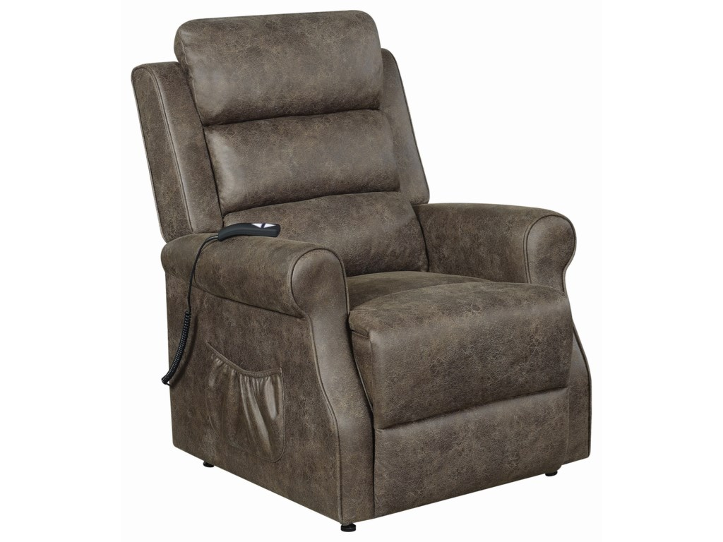 Fine Furniture 6503Power Lift Recliner - Large