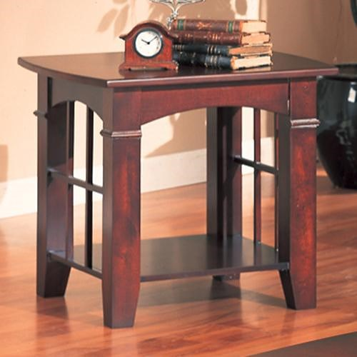 Coaster Abernathy End Table with Shelf