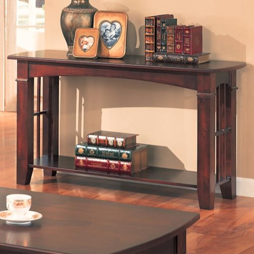 Coaster Abernathy Sofa Table with Shelf