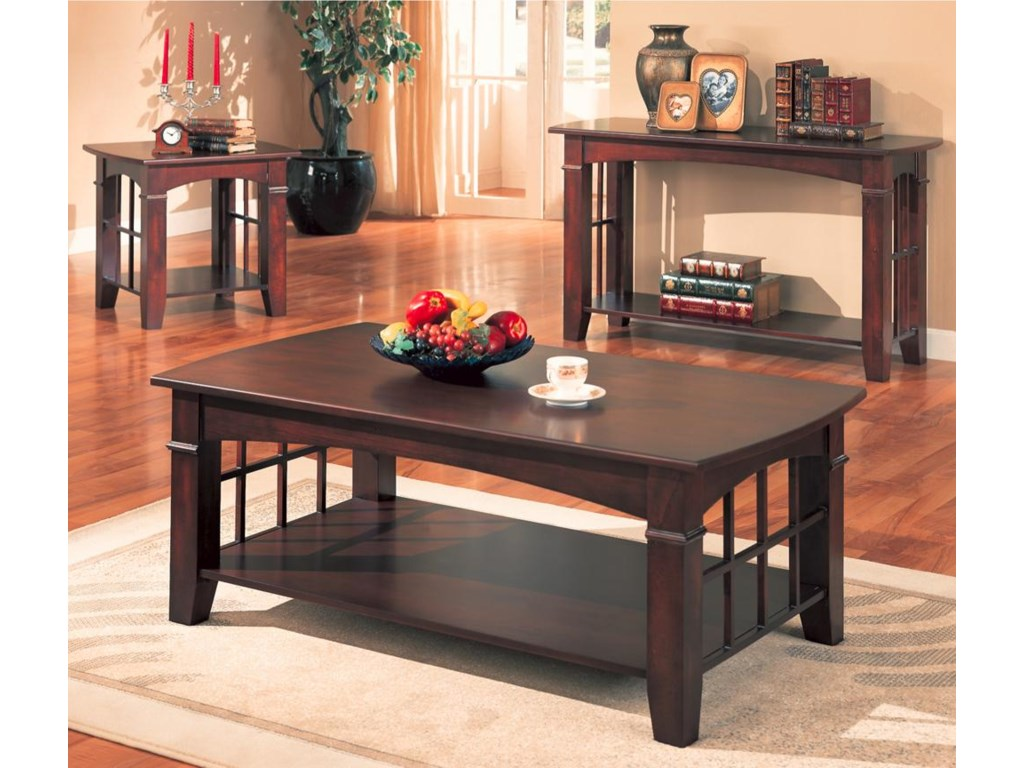 Coaster AbernathySofa Table