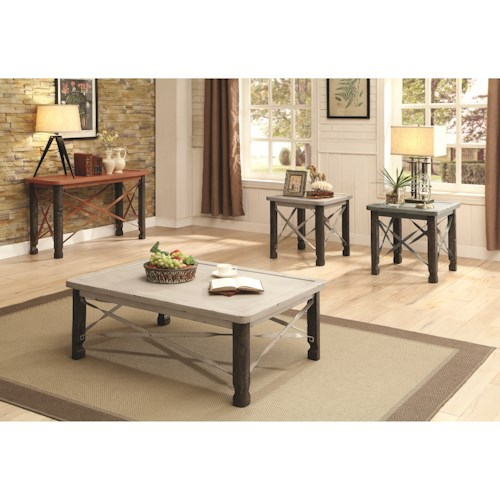 Coaster 700490 Occasional Table Group