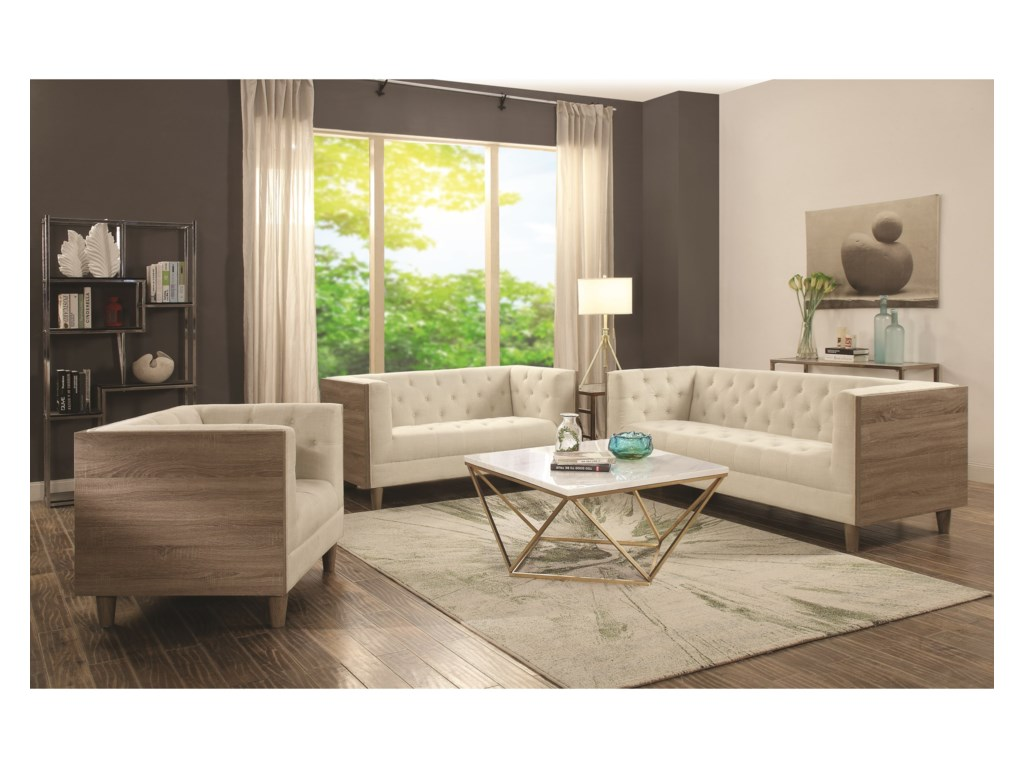 Collection # 2 700846Contemporary Coffee Table