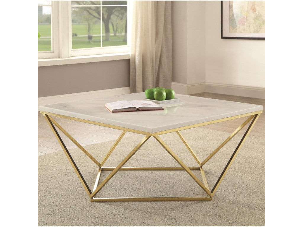 Coaster 700846Contemporary Coffee Table