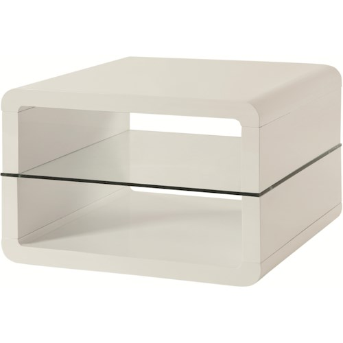 Coaster 70326 End Table with 2 Shelves