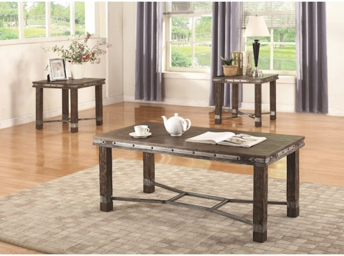 Coaster 703540 Occasional Table Group