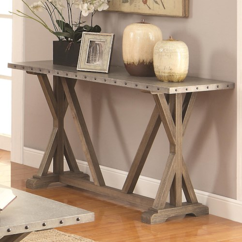 Coaster 70374 Industrial Sofa Table