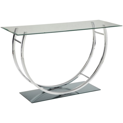 Coaster 704980 U-Shaped Contemoporary Sofa Table
