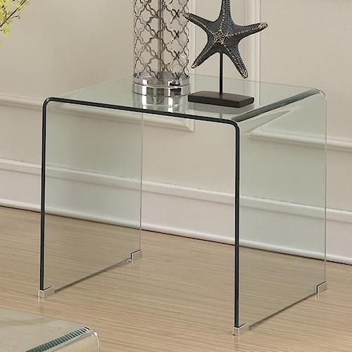 Coaster 70532 Clear Acrylic End Table