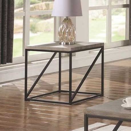 Coaster 70561 Industrial End Table
