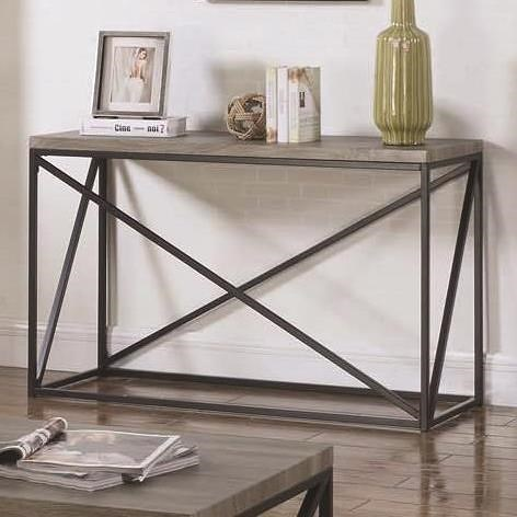 Coaster 70561 Industrial Sofa Table