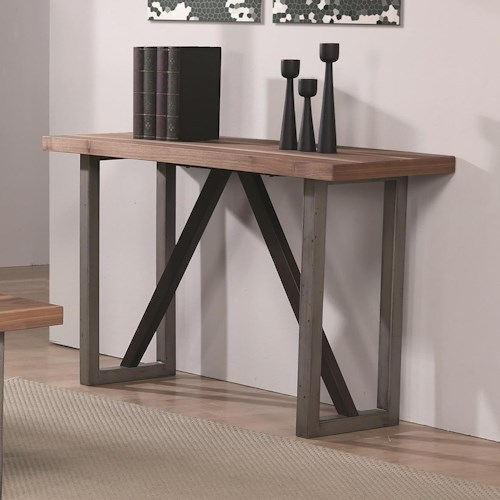 Coaster 70564 Industrial Sofa Table