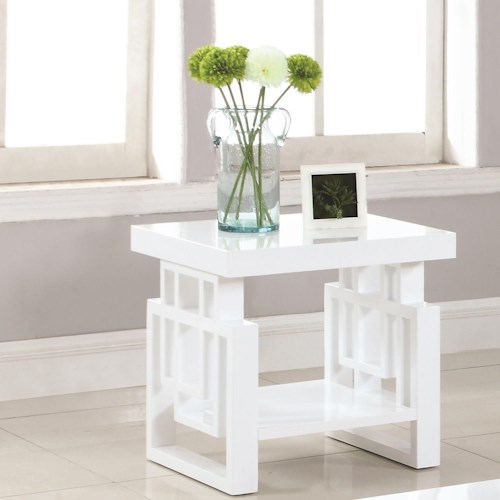 Coaster 70570 Rectangular Contemporary End Table