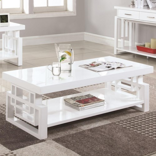 Coaster 70570 Rectangular Contemporary Coffee Table