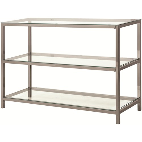 Coaster 72022 Sofa Table with 2 Shelves