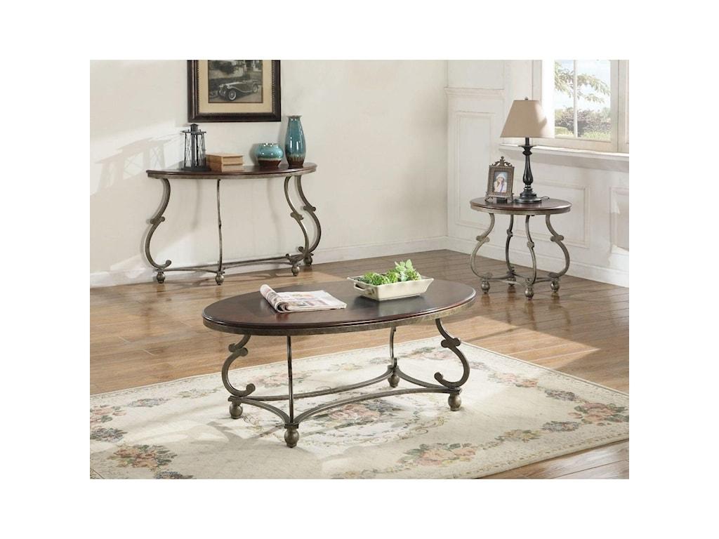Coaster CarolineEnd Table