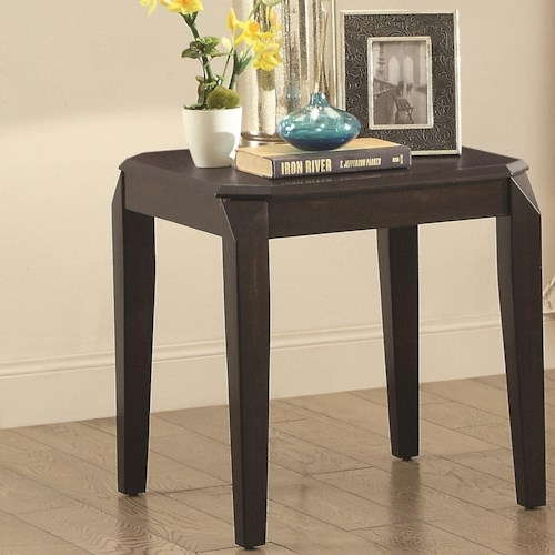 Coaster 72104 Rectangular End Table
