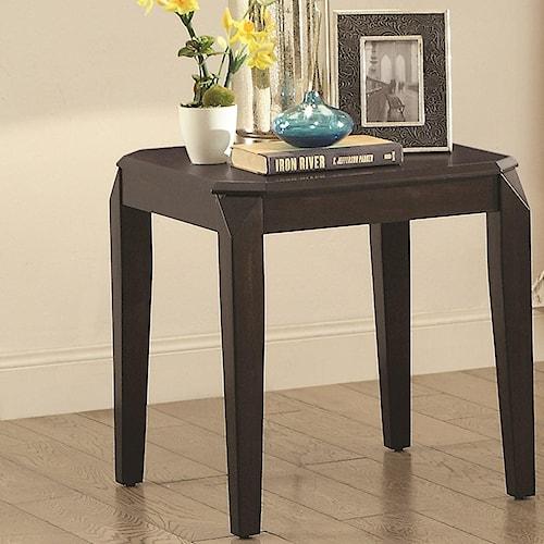 Coaster 72104 Rectangular End Table