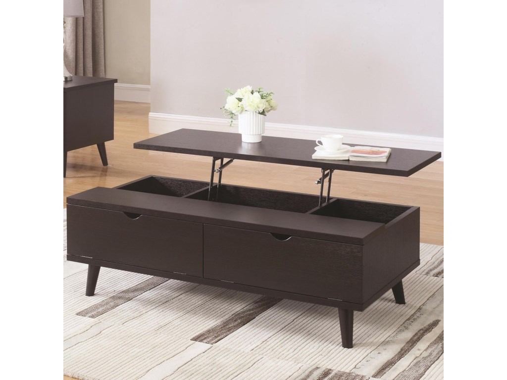 Coaster 72112Lift Top Cocktail Table