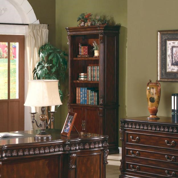 Tucker Open Bookcase With Storage Base By Coaster