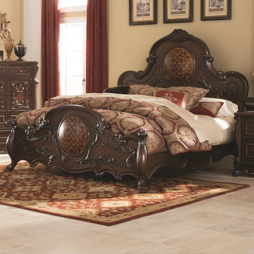 Coaster Abigail California King Bed With Lion Claws